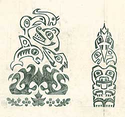 #22 ~ Aller - Untitled - Native Drawings