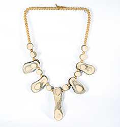 #36 ~ Aller - Untitled - Moose Bone Antler Necklace