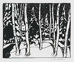 #38 ~ Jackson - Winter Night  #82/100