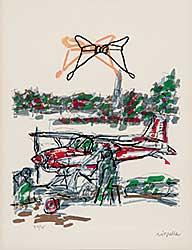 #671 ~ Riopelle - Parler La Corde  #27/75
