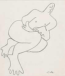 #674 ~ Robinson - Untitled - Figure Study