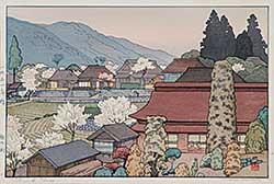 #926 ~ Yoshida - Village of Plums