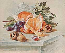 #867 ~ Zehntner - Untitled - Oranges and Figs