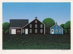 #752 ~ Jeremenko - Untitled - Farmhouses  #126/175
