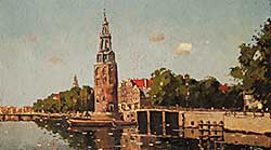 #927 ~ Veenandaal - Untitled - Early View of Amsterdam