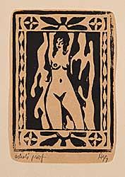 #4 ~ Agg - Untitled - Nude Figure  #Artist's Proof