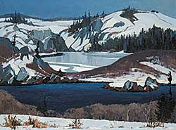 #70 ~ Law - The Frozen Lake, Terrace Bay, N.S.
