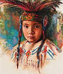 #437 ~ Gonsalves - Blackfoot Boy