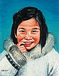 #725 ~ Thrasher - Inuit Girl