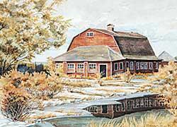 #728 ~ van den Hoogen - Winter Scene North of Calgary