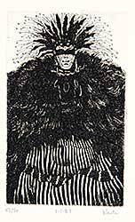 #74 ~ Newton - Untitled - Funky Hairdo  #43/50