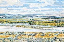 #503 ~ Van Belkum - Sandbars in the River