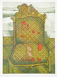 #59 ~ Esler - Landscape with Chair  #20/50