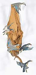 #138 ~ Ruch - Flight of Wood Ducks