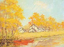 #20 ~ des Clayes - Untitled - Autumn Landscape