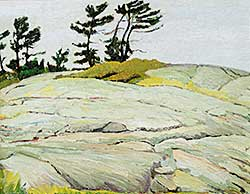 #122 ~ Taylor - Rock and Jack Pines, Georgian Bay