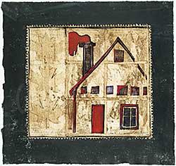 #1127.1 ~ Cardinal-Schubert - Lubicon Lake, Buffalo House