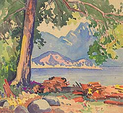 #93 ~ Thornton - Untitled - View of the Lake
