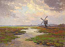 #314 ~ Wassenaar - Untitled - The Old Windmill