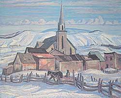 #1081 ~ Jackson - Church at St. Urbain  #395/500