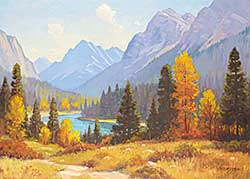 #39 ~ Gissing - Autumn on Bow River