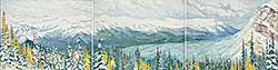 #419 ~ Crerar - October Snow, Bow Valley