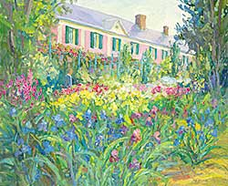 #473 ~ Noreau - Chez Claude Monet