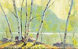 #1098 ~ Elliott - Untitled - Sunlight on the Lake