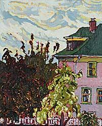 #1104 ~ Ermacora - View from Studio Window