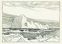 #1155 ~ Jackson - Ice, Baffin Bay