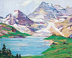 #48 ~ Gissing - The Canadian Rockies Near Lake Louise