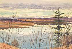 #428 ~ Freeman - Untitled - Foothills Lake