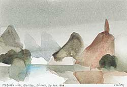 #1155 ~ Onley - Pagoda Hill, Quilin, China 27 Feb., 1988