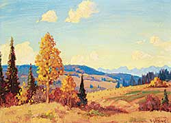 #41 ~ Gissing - Untitled - Autumn in the Foothills
