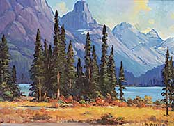 #42 ~ Gissing - Maligne Lake
