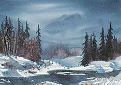 #1058 ~ Fleming - Untitled - The Winter Pond