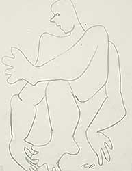 #1146 ~ Robinson - Untitled - Seated Figure I