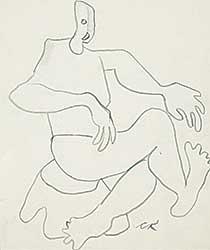 #1147 ~ Robinson - Untitled - Seated Figure II