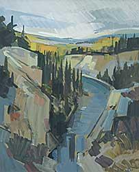 #1198 ~ Vest - Gorge Off South Canol Rd. Y.T.