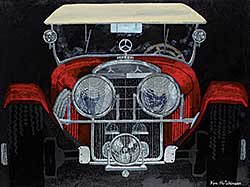 #60 ~ Hutchinson - 1927 Mercedes Touring