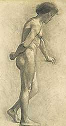 #304 ~ de la Fresnaye - Untitled - Male Nude