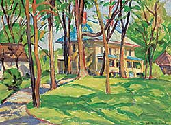 #1070 ~ Galbraith-Cornell - Untitled - Cottage Country