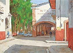 #1075 ~ Gonsalves - Patzcuaro - Hotel Mision Manuel