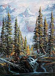 #1116 ~ Jegodtka - Misty Peak [BC Forest I Series]