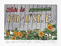 #1427 ~ School - Watermark Printmaking Studio  #15/26