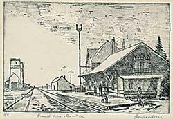 #1130.1 ~ Montcombroux - Branch Line Manitoba  #1/50