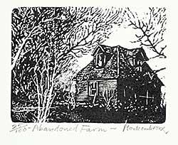 #1191 ~ Montcombroux - Abandoned Farm  #25/100