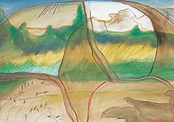 #21.1 ~ Cardinal-Schubert - Untitled - Story of the Plains