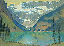 #56 ~ Gissing - Untitled - Lake Louise