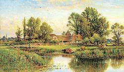 #308 ~ Glendening - Untitled - At River's Edge